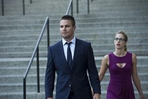 Arrow - Season 3 - The Calm - Oliver and Felicity