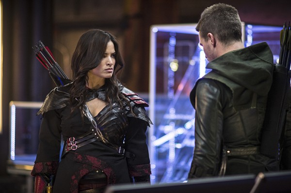 Arrow - The Magician - Nyssa and Arrow