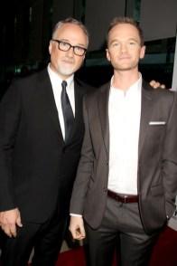 Dave Allocca/Starpix David Fincher and Neil Patrick Harris