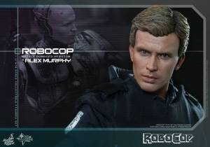 Hot Toys Robocop and Alex Murphy set - Murphy