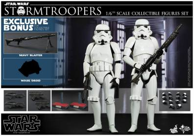 Hot Toys Stormtroopers set - collage