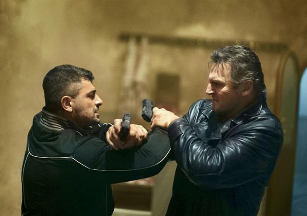 Taken 2 - Liam Neeson fighting