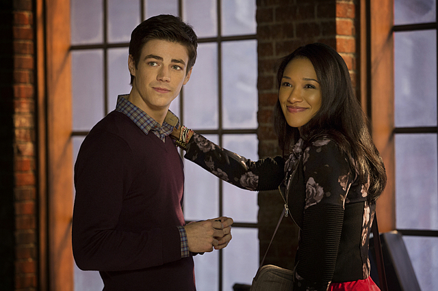The Flash - Barry and Iris - Candice Patton