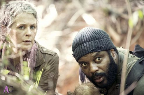 The Walking Dead - season 4 - carol and tyrese