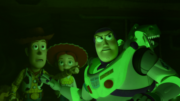 Toy Story of Terror - Woody, Jessie and Buzz