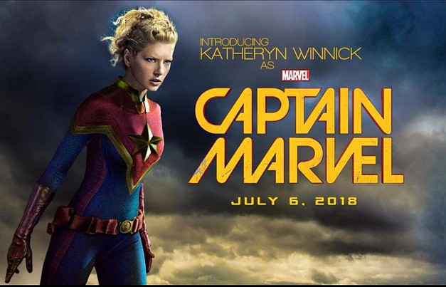 Katheryn Winnick as Captain Marvel