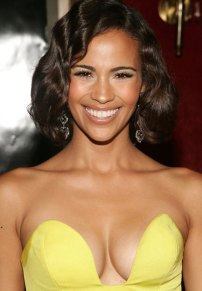 Paula Patton cleavage dress hot
