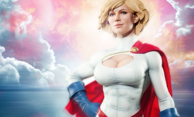 Sideshow Collectibles Power Girl - main pic