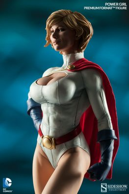 Sideshow Collectibles Power Girl - shadows