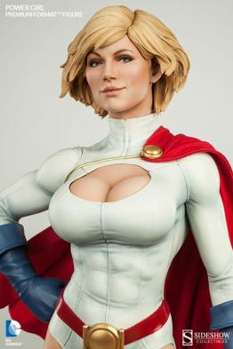 Sideshow Collectibles Power Girl - tight shot