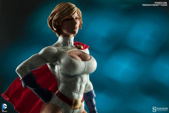 Sideshow Collectibles Power Girl - wide shot