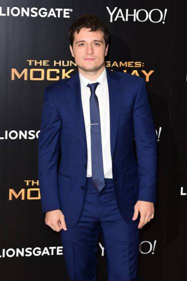 The Hunger Games - Mockingjay premiere - Josh Hutcherson2