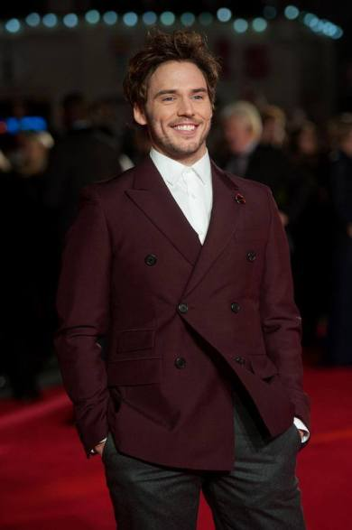 The Hunger Games - Mockingjay premiere - Sam Claflin2