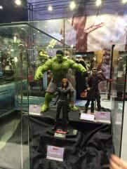 Hot Toys Age of Ultron Avengers figures - Black Widow, Hulk and Hawkeye