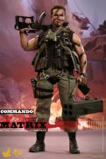 Hot Toys Commando - John Matrix figure - main shot