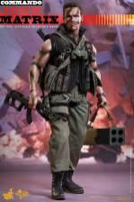 Hot Toys Commando - John Matrix figure - with gun and rocket launcher
