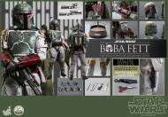 Hot Toys Return of the Jedi Boba Fett figure - all accessories