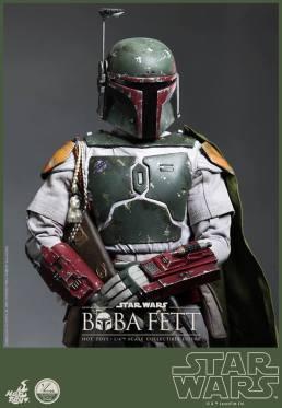 Hot Toys Return of the Jedi Boba Fett figure - close up