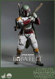 Hot Toys Return of the Jedi Boba Fett figure - gun high