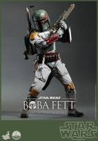 Hot Toys Return of the Jedi Boba Fett figure - gun raised