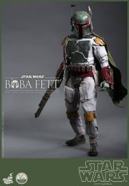 Hot Toys Return of the Jedi Boba Fett figure - standing