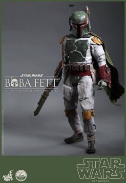 Hot Toys Return of the Jedi Boba Fett figure - standing