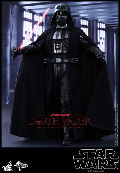 Hot Toys Star Wars Darth Vader figure - arms wide