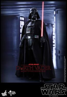 Hot Toys Star Wars Darth Vader figure -lightsaber readfy