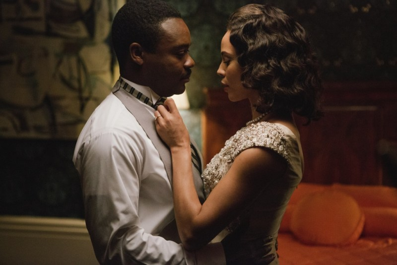 Selma movie - David Oyelowo and Carmen Ejogo