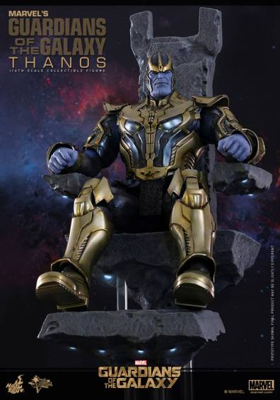 Hot Toys Thanos - sitting on the throne