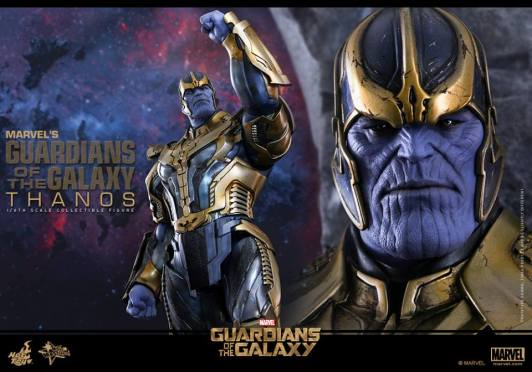 Hot Toys Thanos - standing head close up