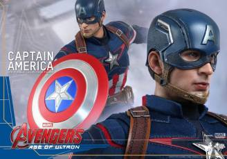 Hot Toys The Avengers Age of Ultron Captain America - head close up