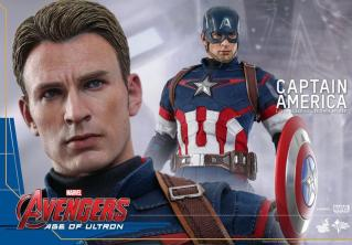 Hot Toys The Avengers Age of Ultron Captain America - main pic
