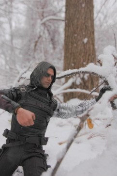 Hot Toys The Winter Soldier - moving away branch