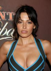 sarah-shahi- hot blue top