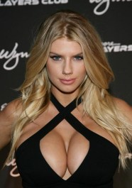 Charlotte McKinney black top