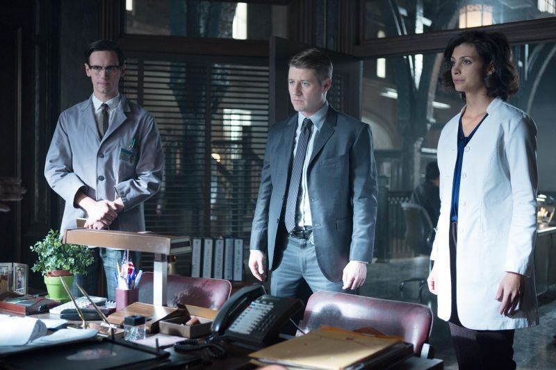 Gotham - The Blind Fortune Teller - Nygma, Gordon and Leslie Gotham TV