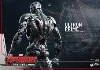 Hot Toys Age of Ultron - Ultron Prime - back shot