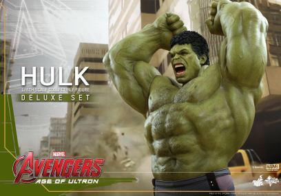 Hot Toys Hulk - Age of Ultron - close up arms up