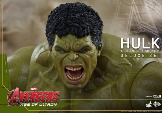 Hot Toys Hulk - Age of Ultron - close up eyes