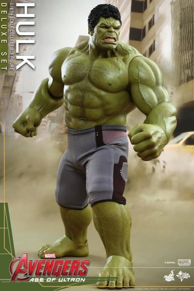 Hot Toys Hulk - Age of Ultron - Hulk side