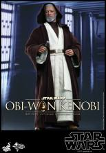 Hot Toys Obi Wan Kenobi - facing Vader