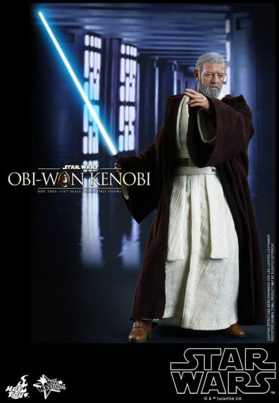 Hot Toys Obi Wan Kenobi - left profile