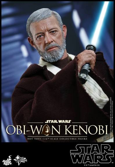 Hot Toys Obi Wan Kenobi - lightsaber ready