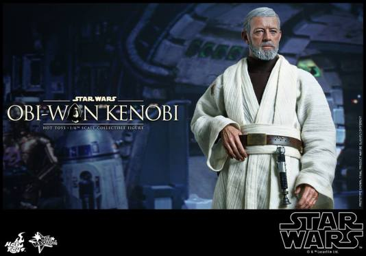 Hot Toys Obi Wan Kenobi - robe off