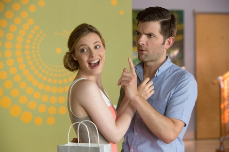 Hot Tub Time Machine 2 - Gillian Jacobs and Adam Scott