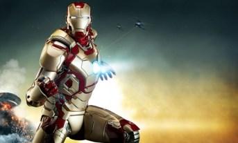Iron Man Mark 42 maquette - main