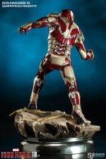 Iron Man Mark 42 maquette - rear