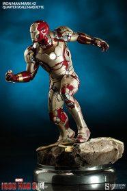Iron Man Mark 42 maquette - side scale