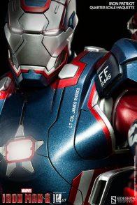 Iron Patriot Quarter Scale Maquette - close up